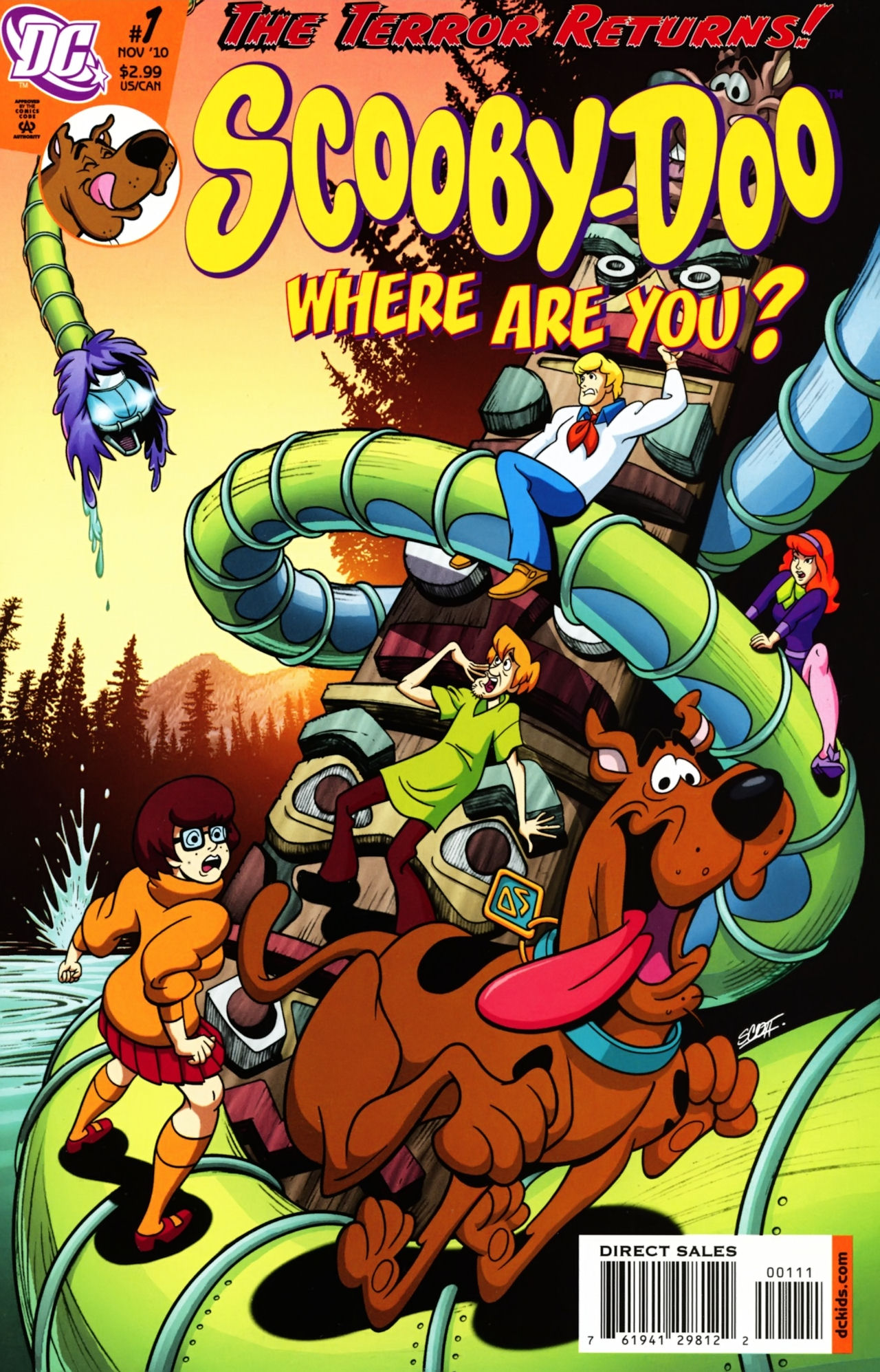 Read online Scooby-Doo: Where Are You? comic -  Issue #1 - 1