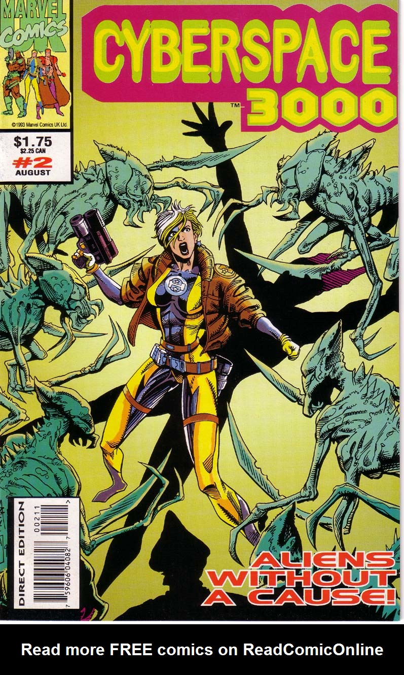 Read online Cyberspace 3000 comic -  Issue #2 - 1