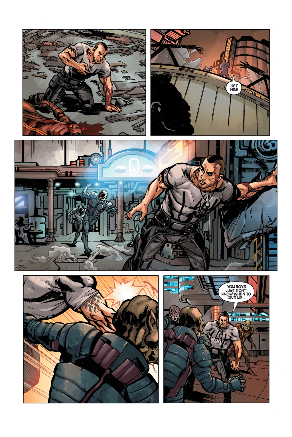 Read online Mass Effect: Conviction comic -  Issue # Full - 7