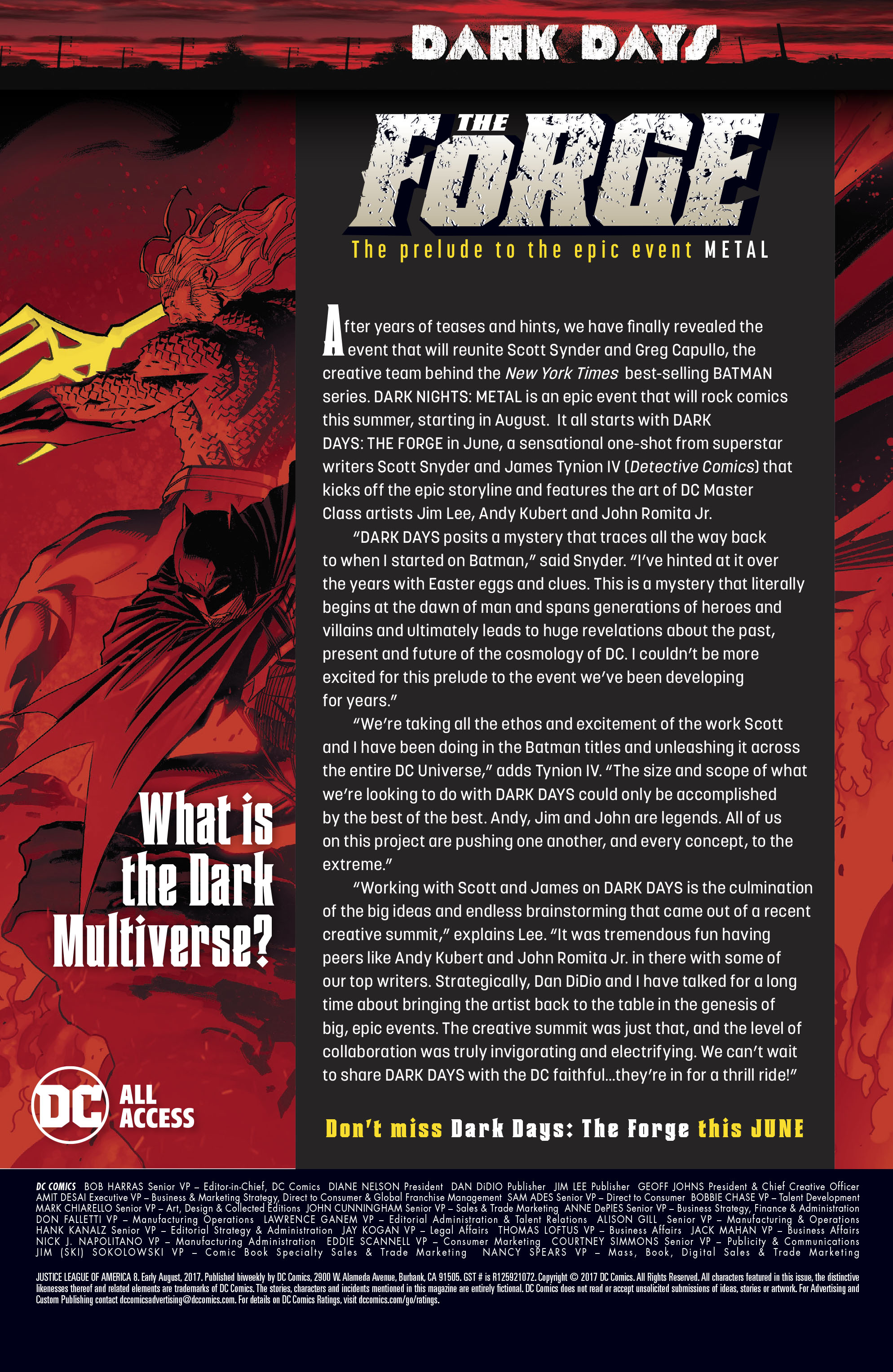 Read online Justice League of America (2017) comic -  Issue #8 - 25