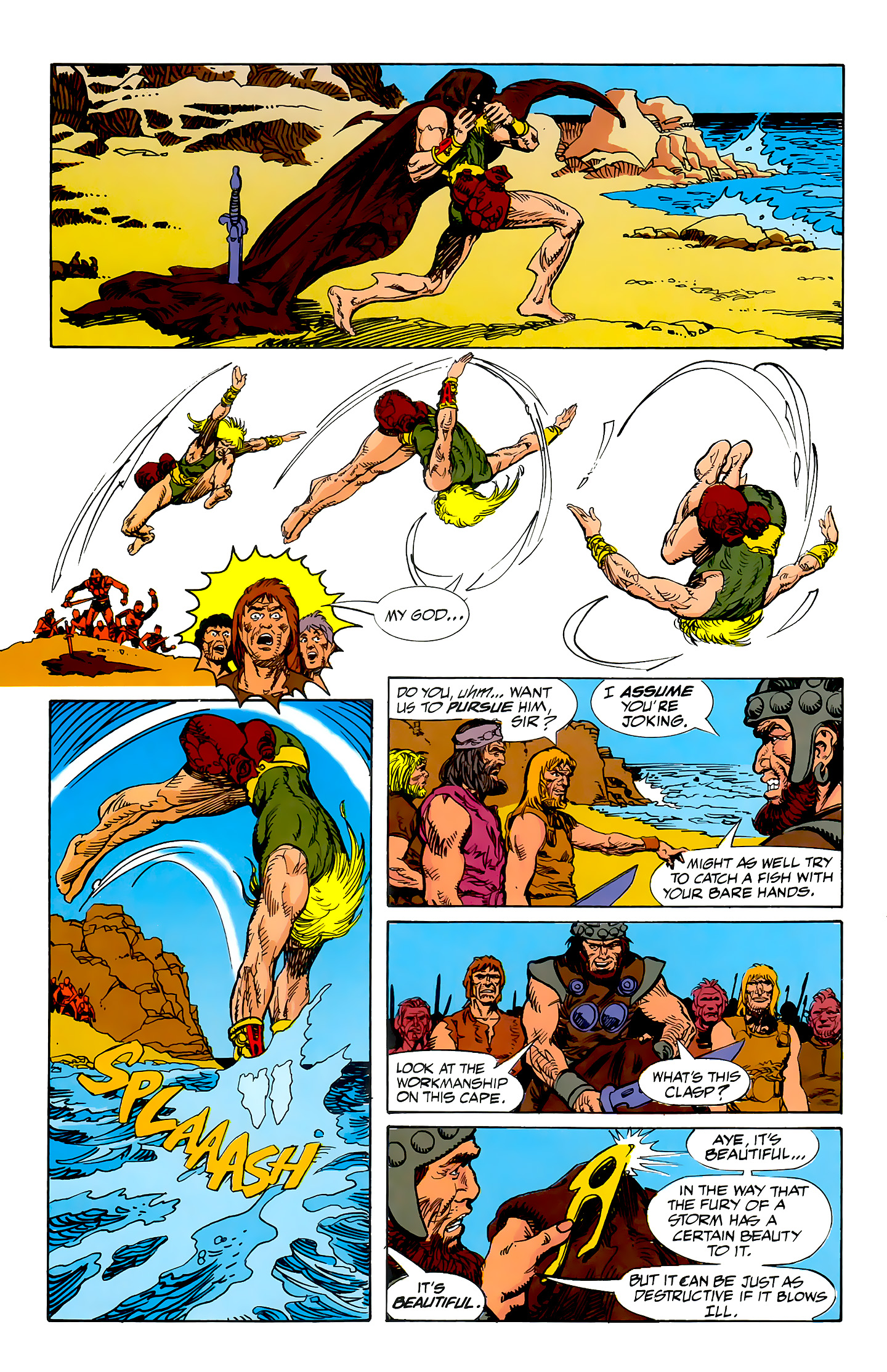 Read online Atlantis Chronicles comic -  Issue #5 - 40