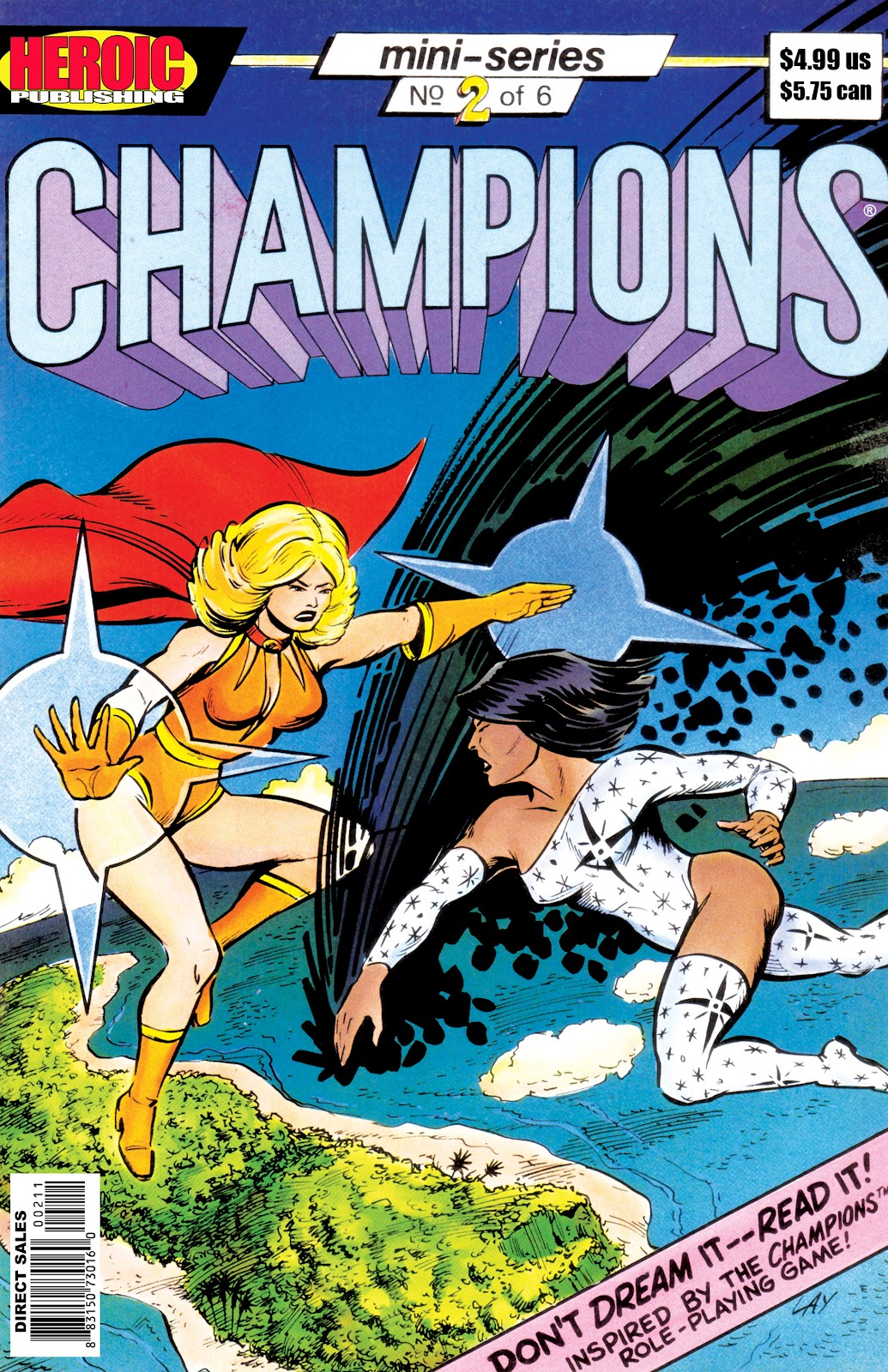 Champions (1986) issue 2 - Page 1