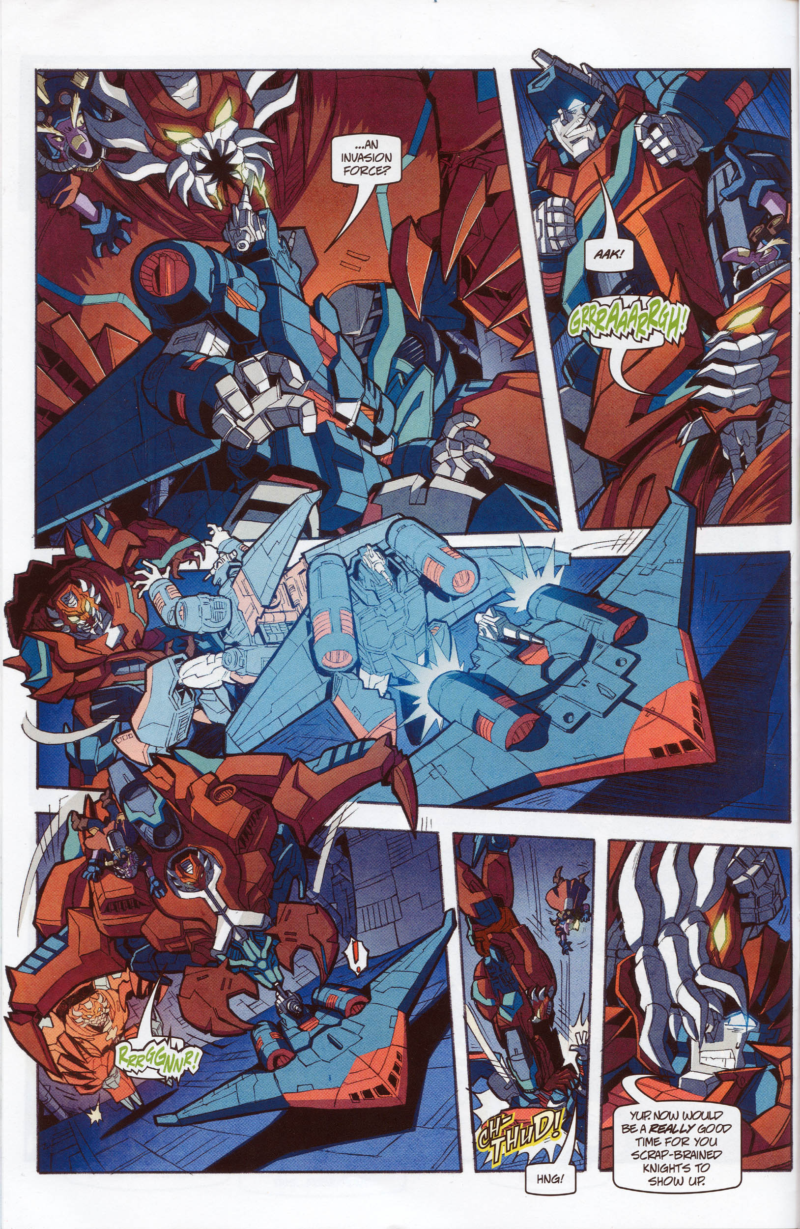 Read online Transformers: Timelines comic -  Issue #10 - 14