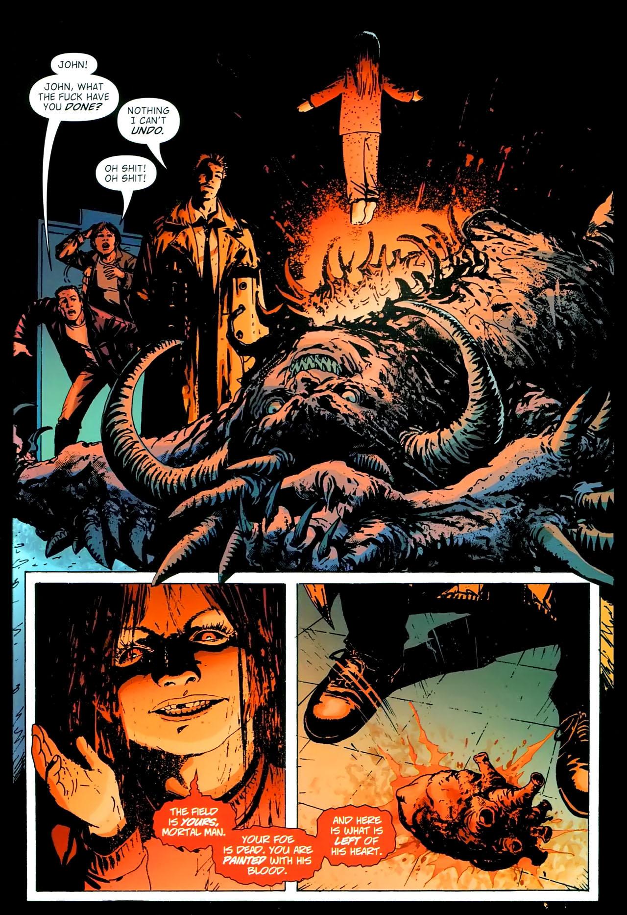 Read online John Constantine Hellblazer: All His Engines comic -  Issue # Full - 109