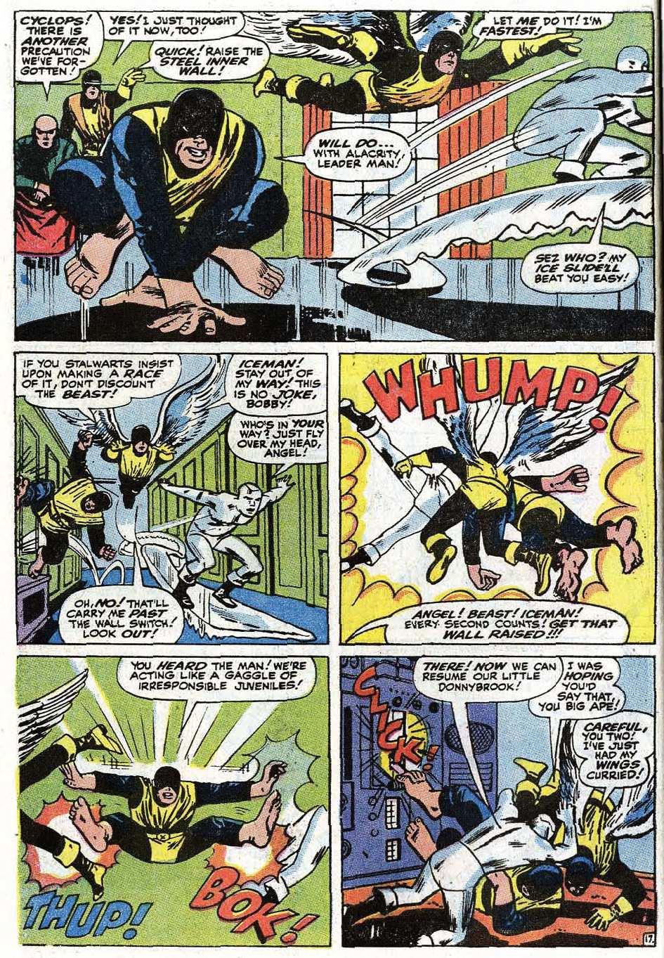Read online Uncanny X-Men (1963) comic -  Issue #67 - 22