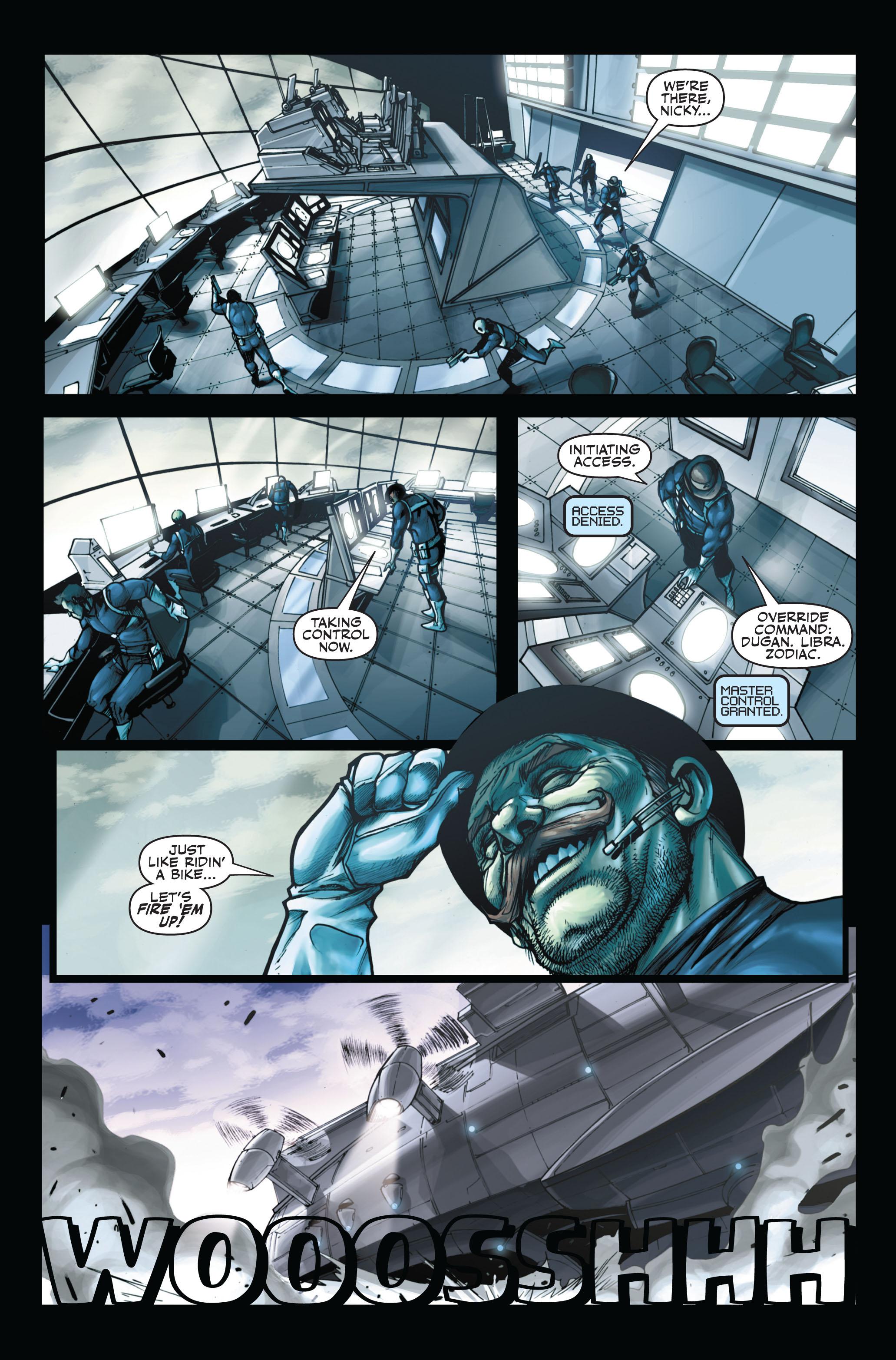 Read online Secret Warriors comic -  Issue #6 - 11