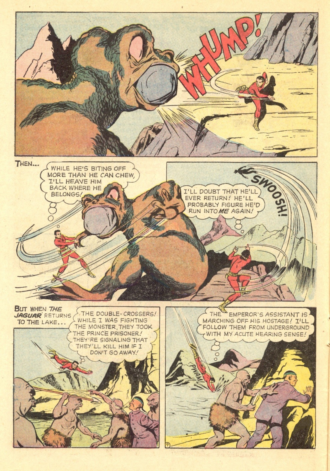Adventures of the Jaguar issue 4 - Page 10