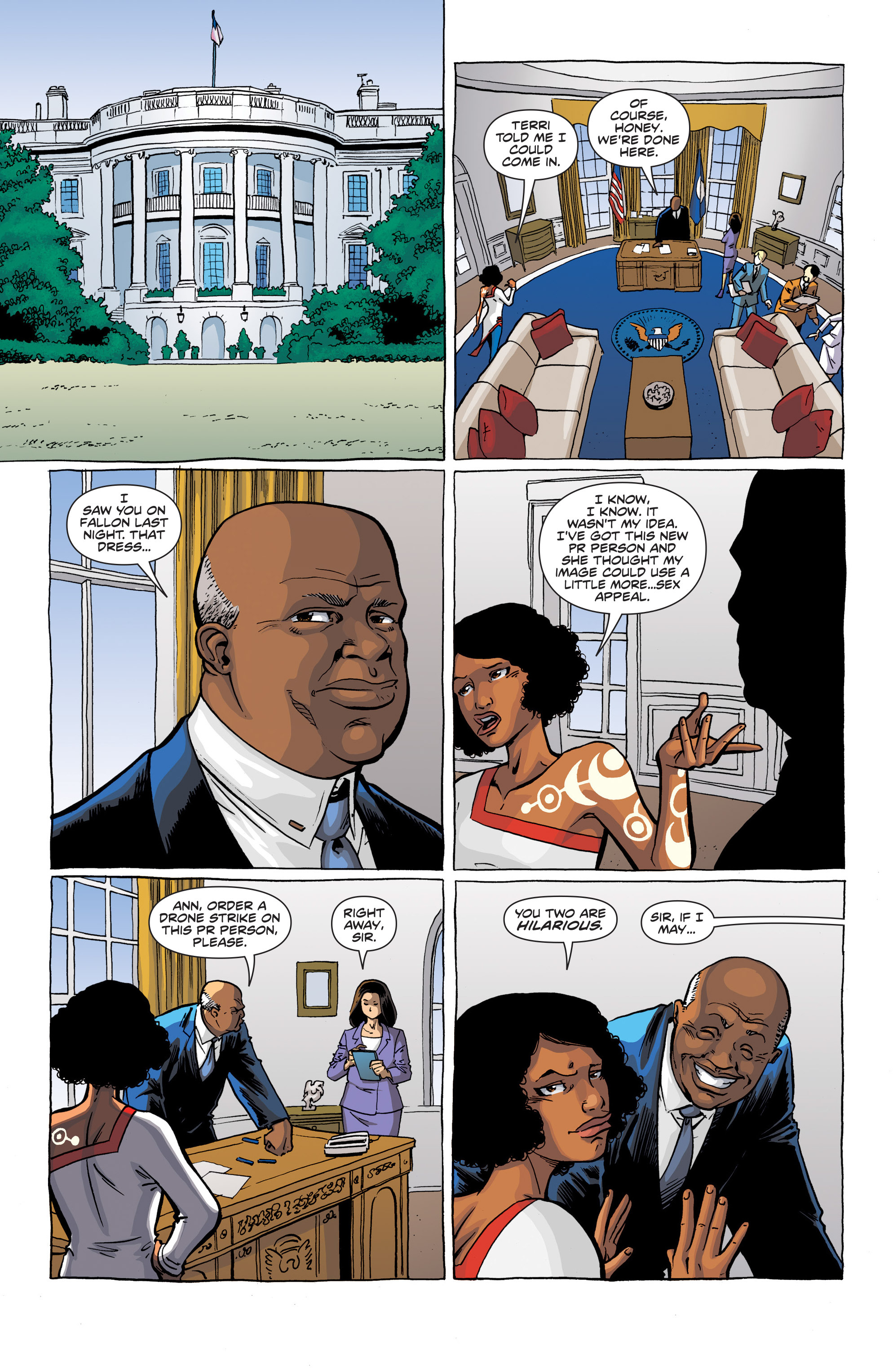Read online Secret Identities comic -  Issue #1 - 11