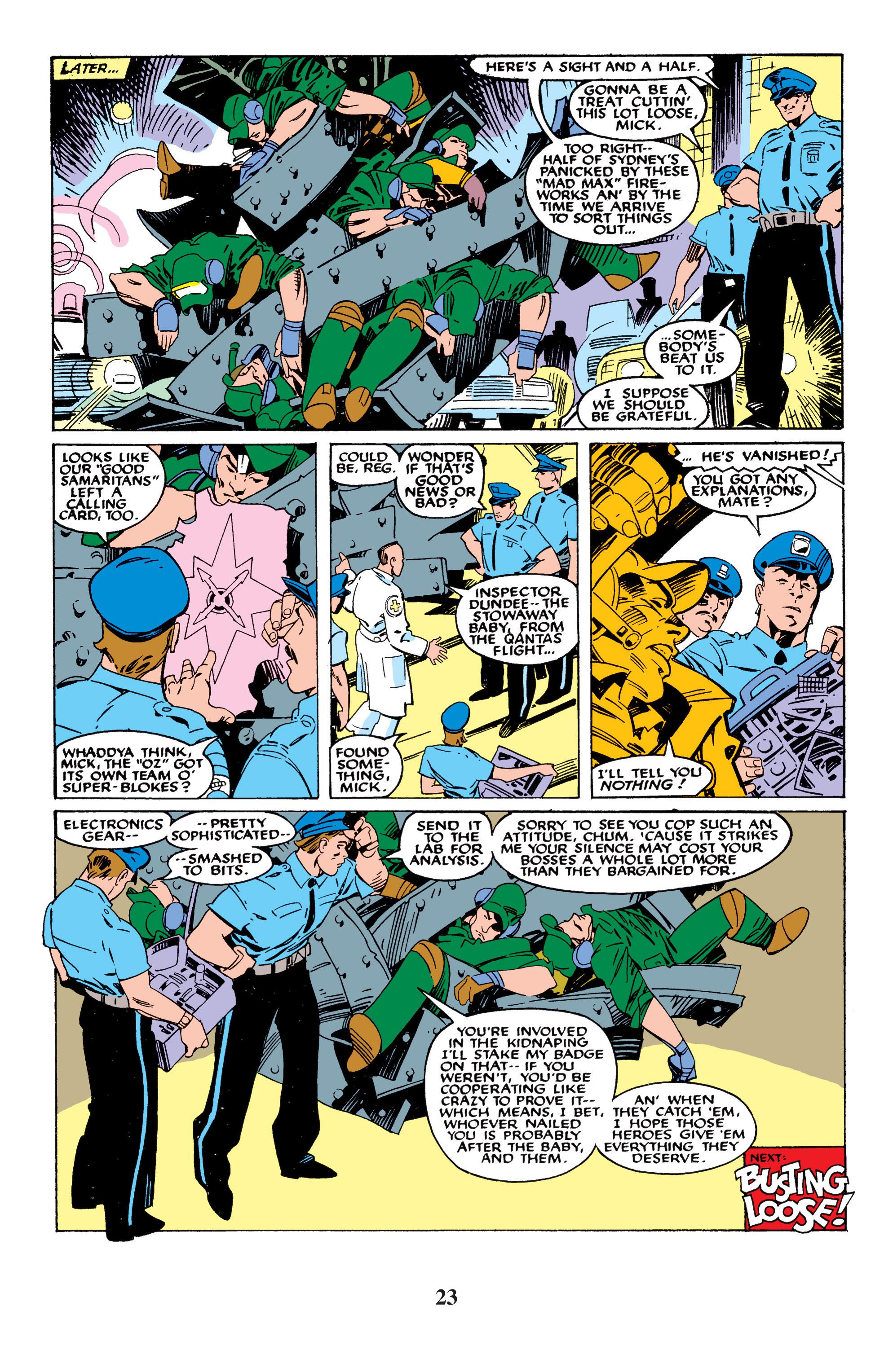 Read online Uncanny X-Men (1963) comic -  Issue #235 - 23