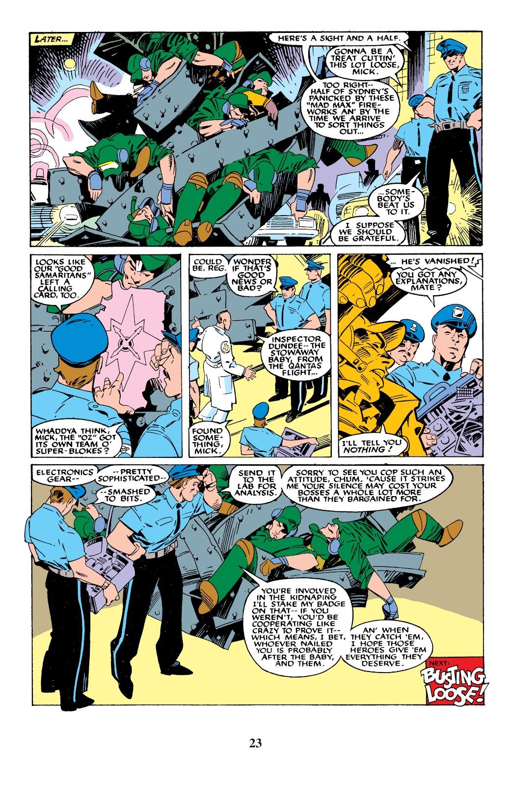 Uncanny X-Men (1963) issue 235 - Page 23