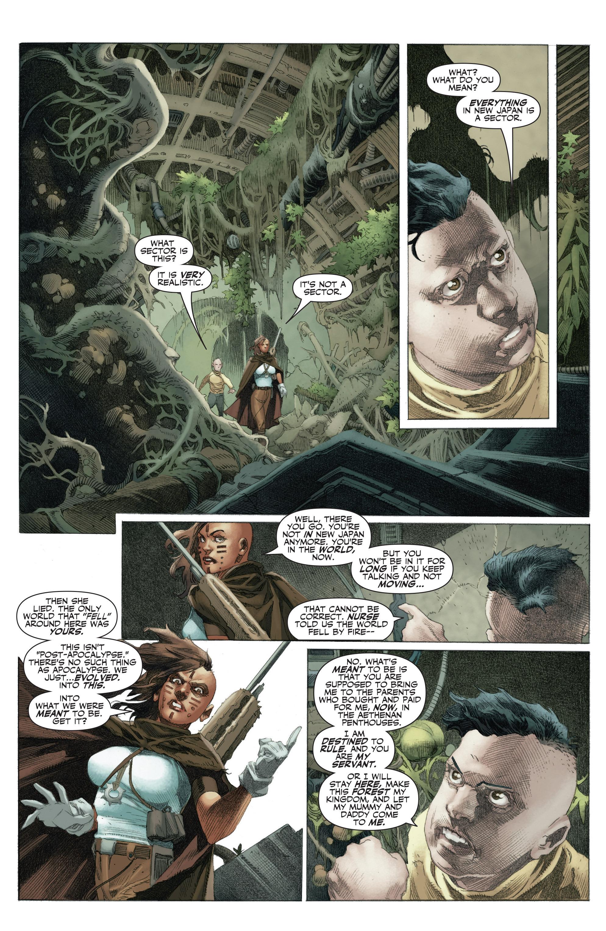 Read online 4001 A.D.: War Mother comic -  Issue #4001 A.D.: War Mother Full - 20