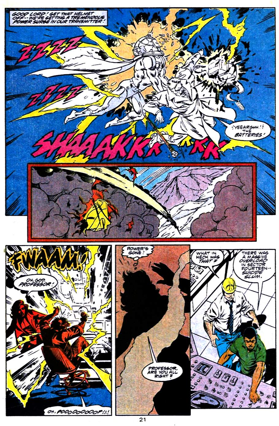 Read online Adventures of Superman (1987) comic -  Issue #484 - 22