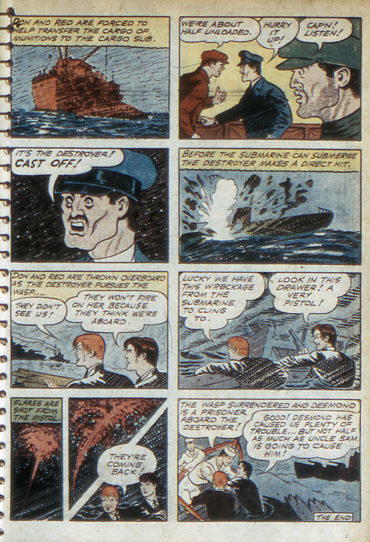 Read online Adventure Comics (1938) comic -  Issue #52 - 59