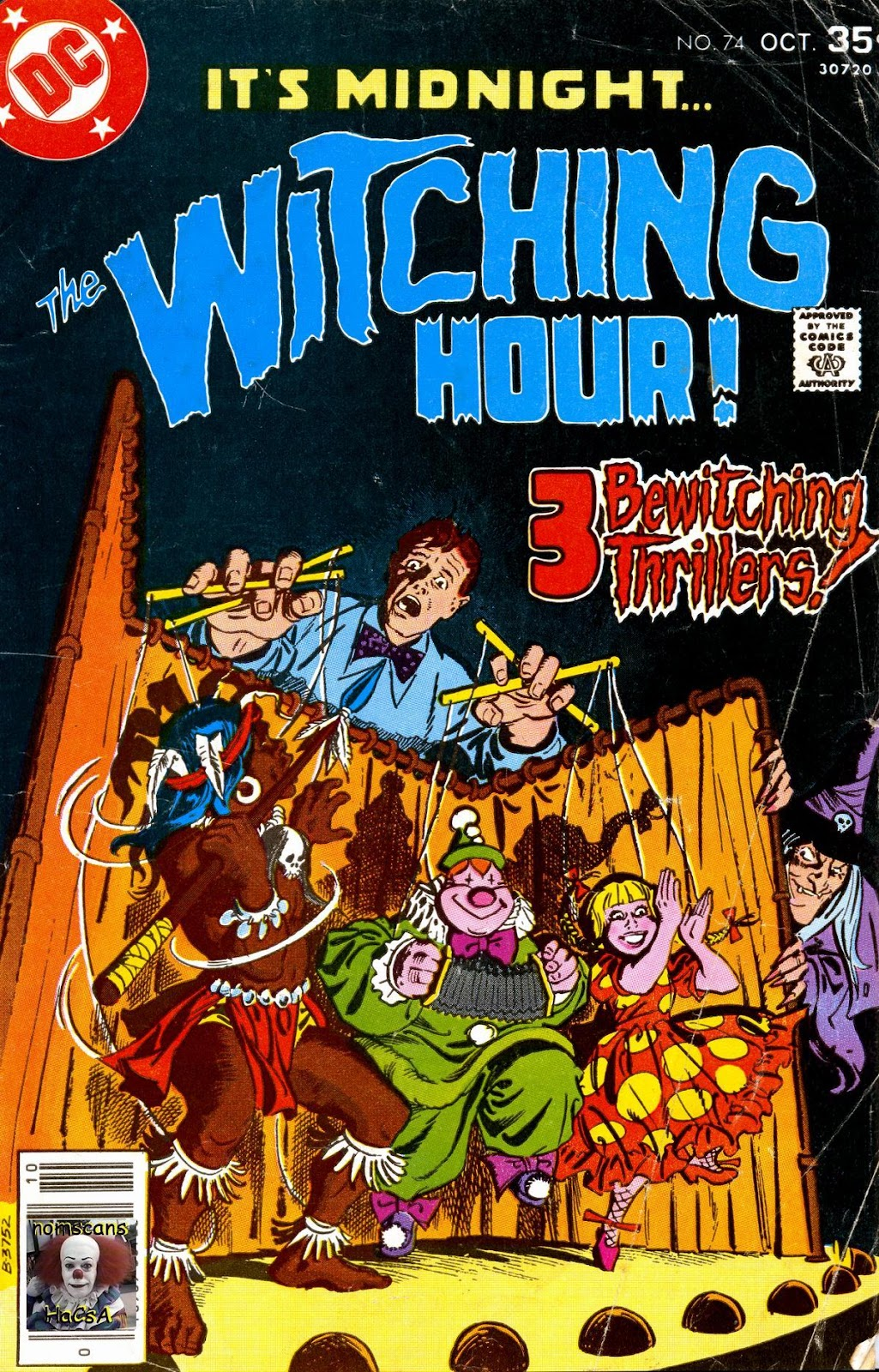 The Witching Hour (1969) issue 74 - Page 1