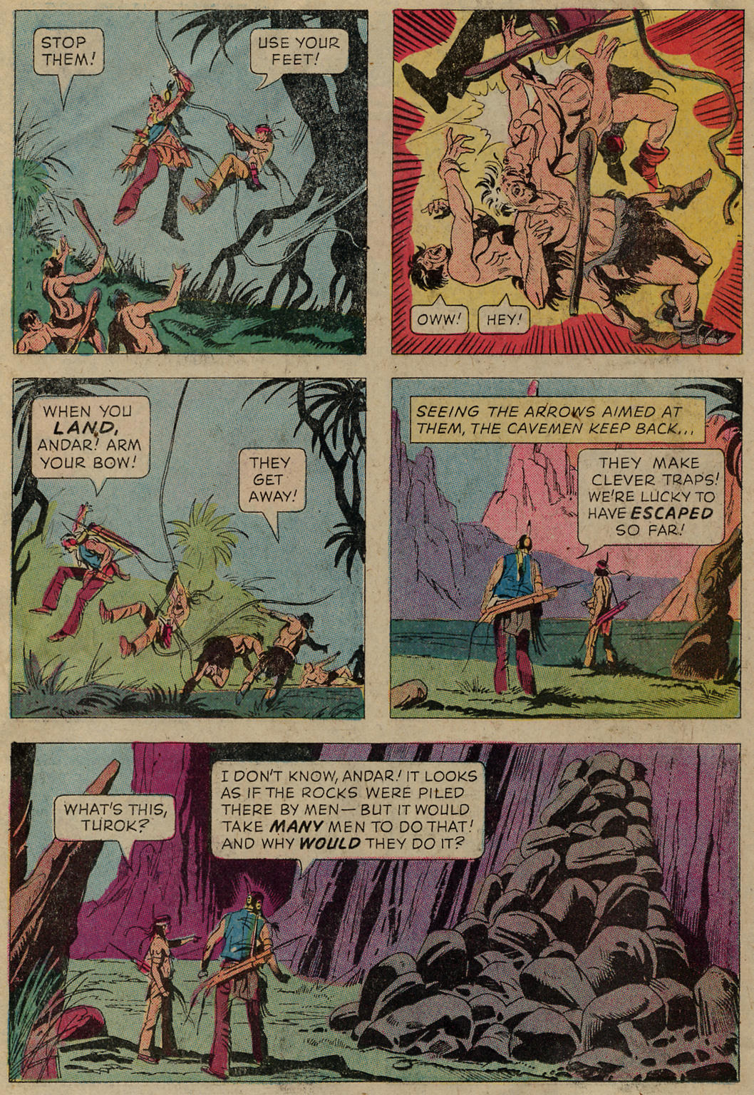 Read online Turok, Son of Stone comic -  Issue #102 - 26