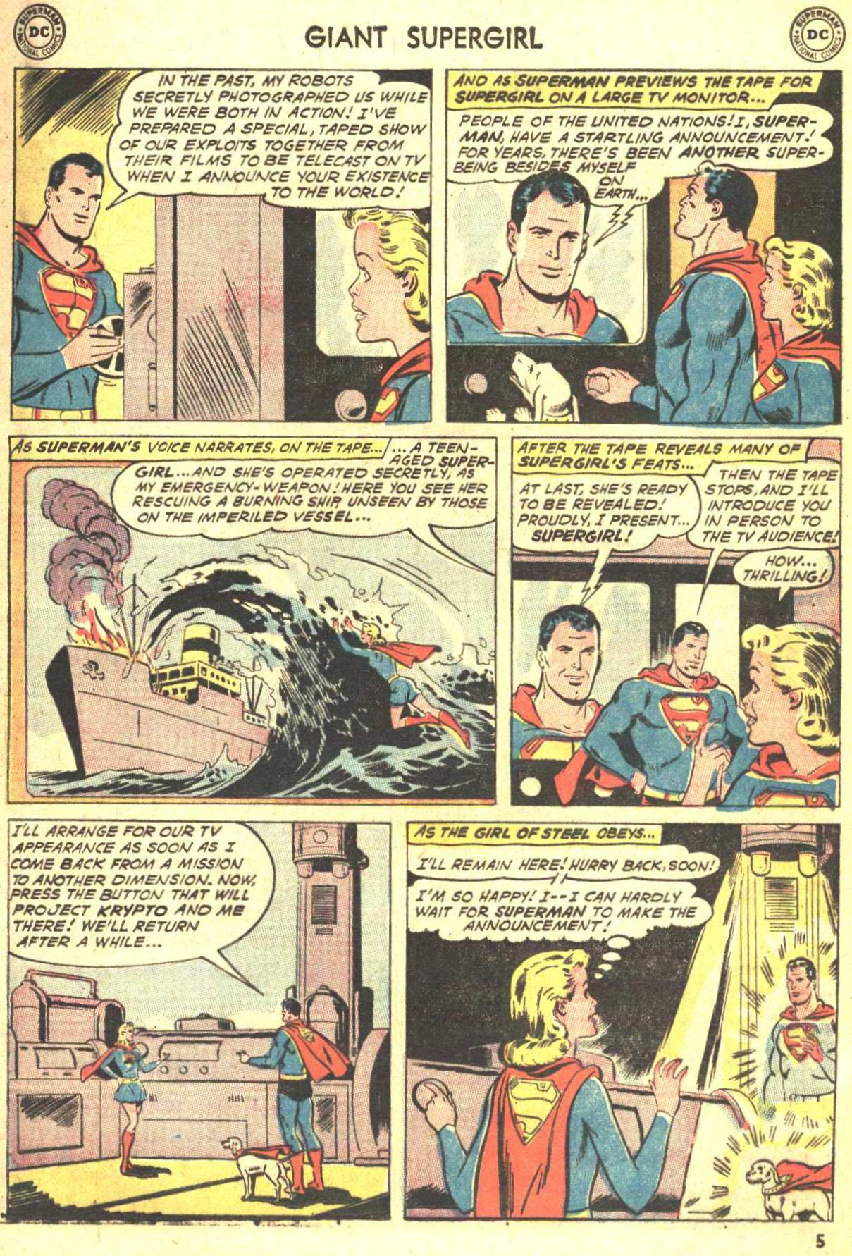 Read online Action Comics (1938) comic -  Issue #360 - 6