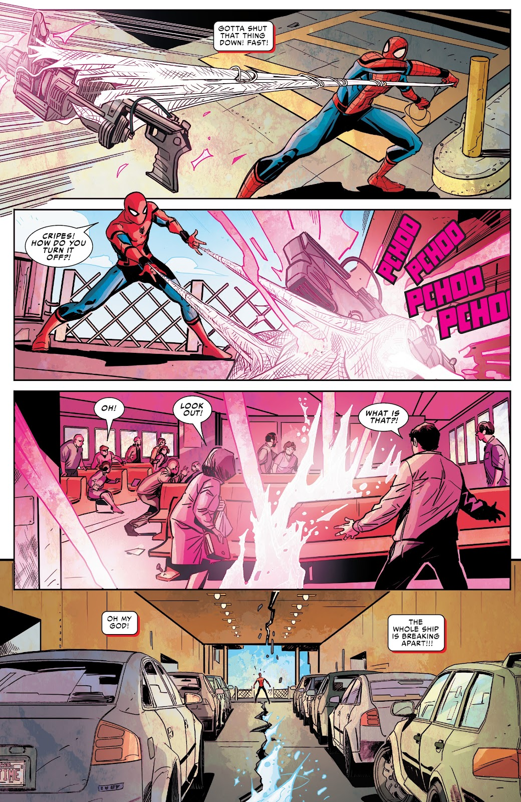Read online Spider-Man: Far From Home Prelude comic -  Issue #2 - 10