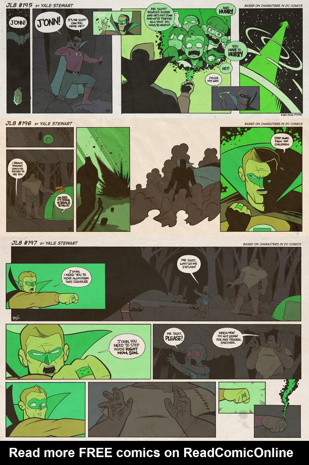Read online JL8 – The Complete Collection comic -  Issue # TPB (Part 2) - 22