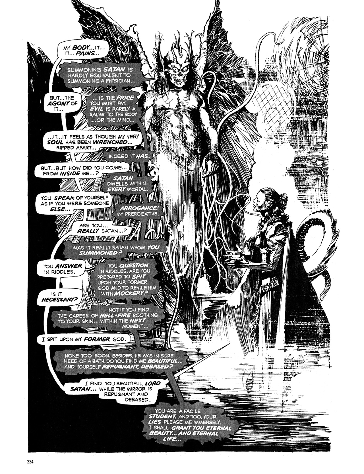 Read online Eerie Archives comic -  Issue # TPB 10 - 225