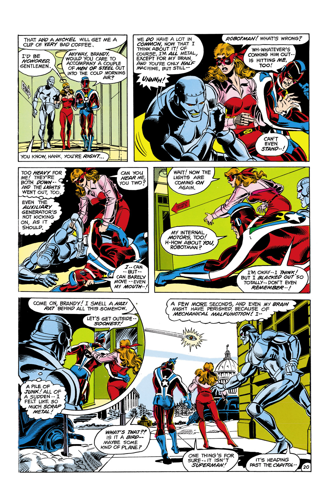 Read online All-Star Squadron comic -  Issue #10 - 21