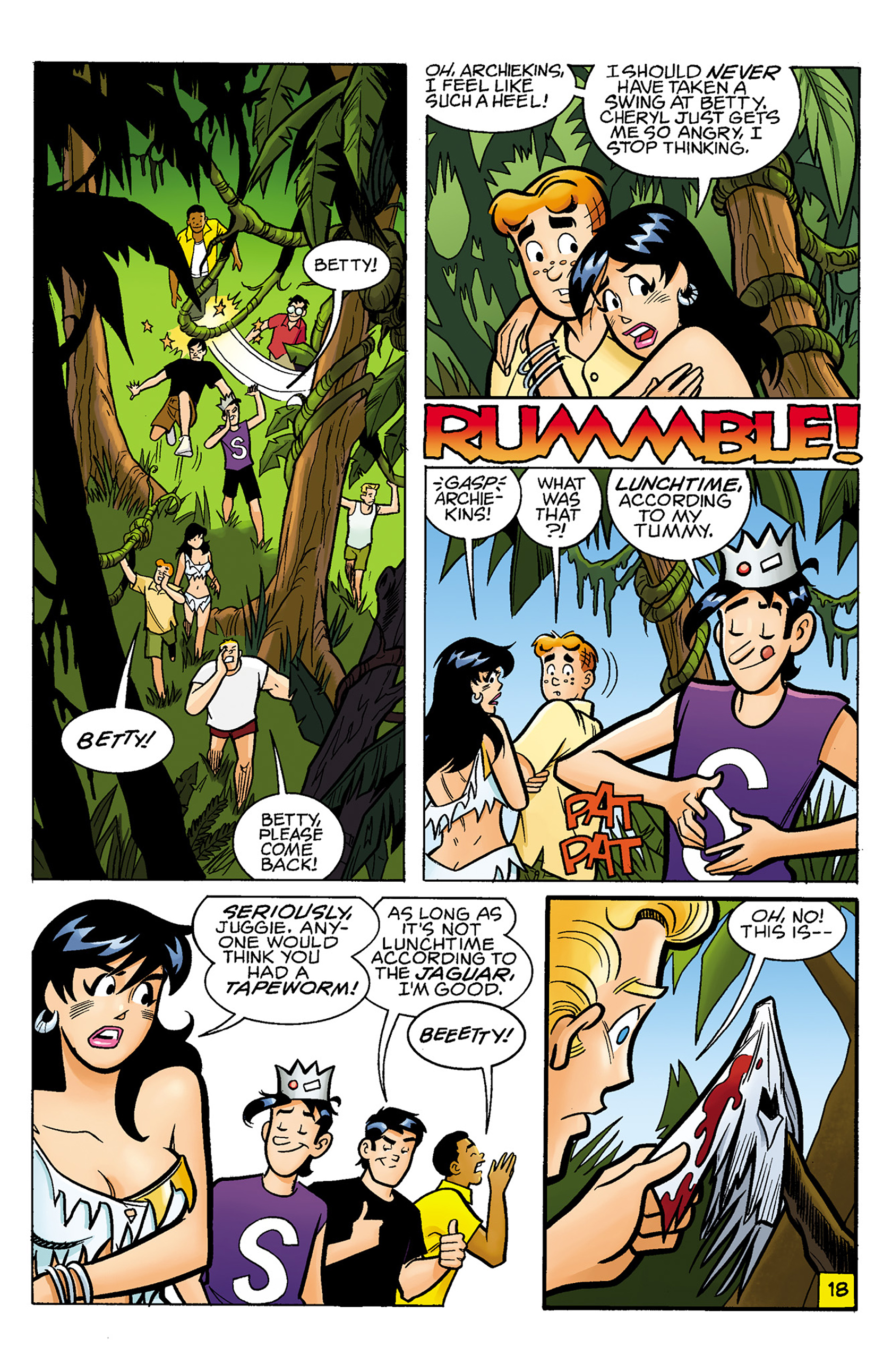 Read online Archie vs. Predator comic -  Issue #1 - 19