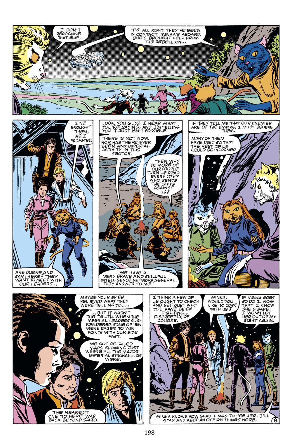 Read online Star Wars Omnibus comic -  Issue # Vol. 21 - 190