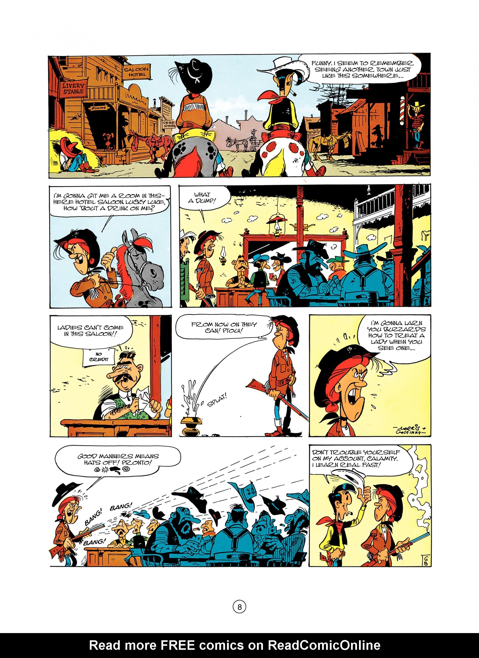 Read online A Lucky Luke Adventure comic -  Issue #8 - 8