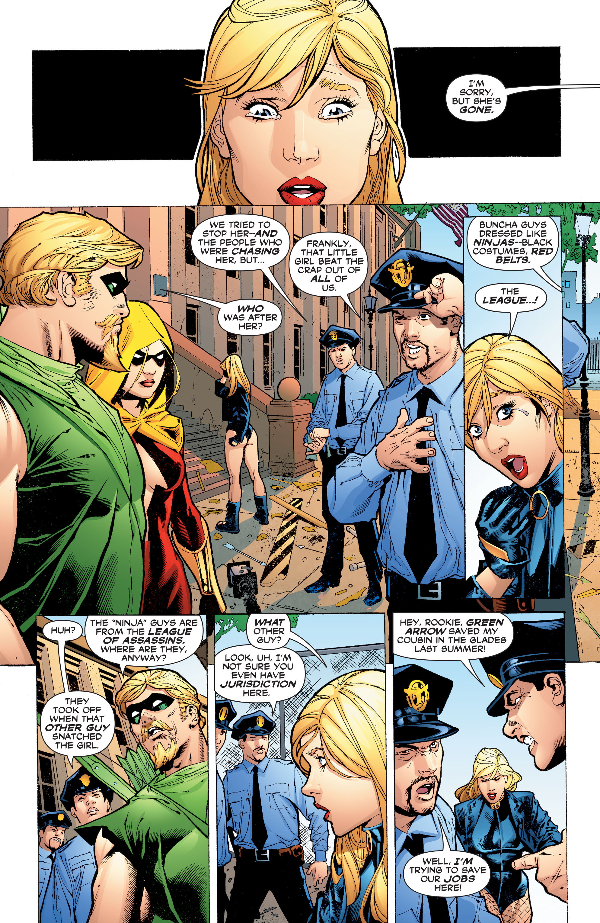 Read online Black Canary (2007) comic -  Issue #3 - 2