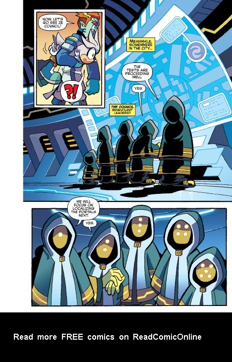 Read online Sonic Comics Spectacular: Speed of Sound comic -  Issue # Full - 119