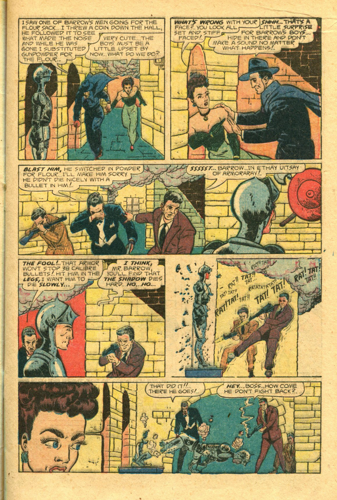 Read online Shadow Comics comic -  Issue #98 - 13