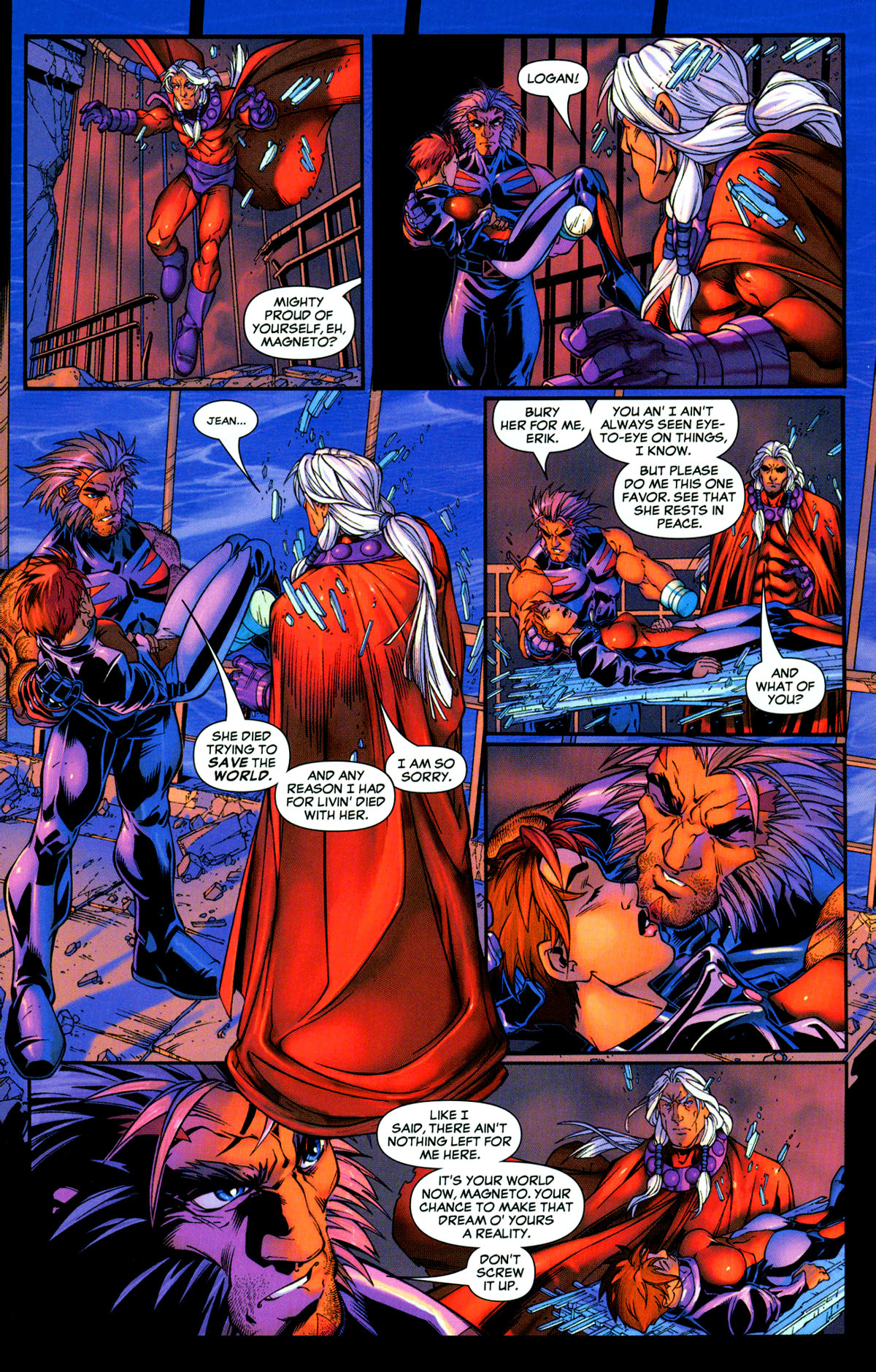 Read online X-Men: Age of Apocalypse One-Shot comic -  Issue # Full - 33