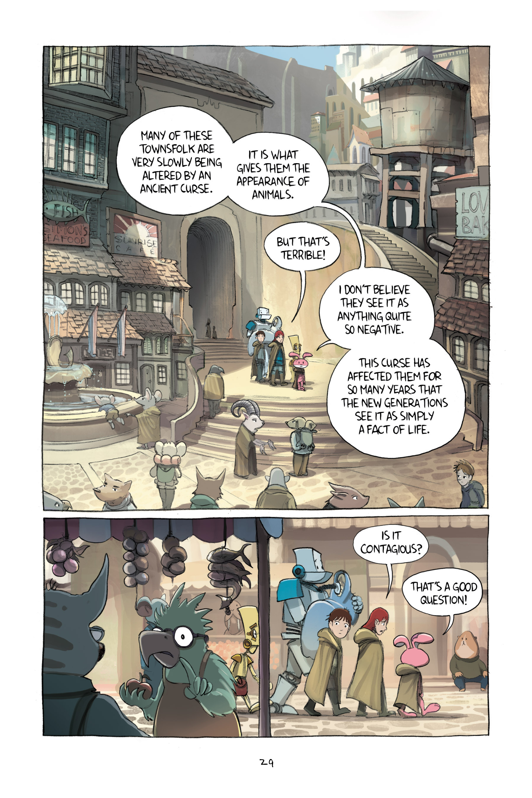 Read online Amulet comic -  Issue #2 - 31
