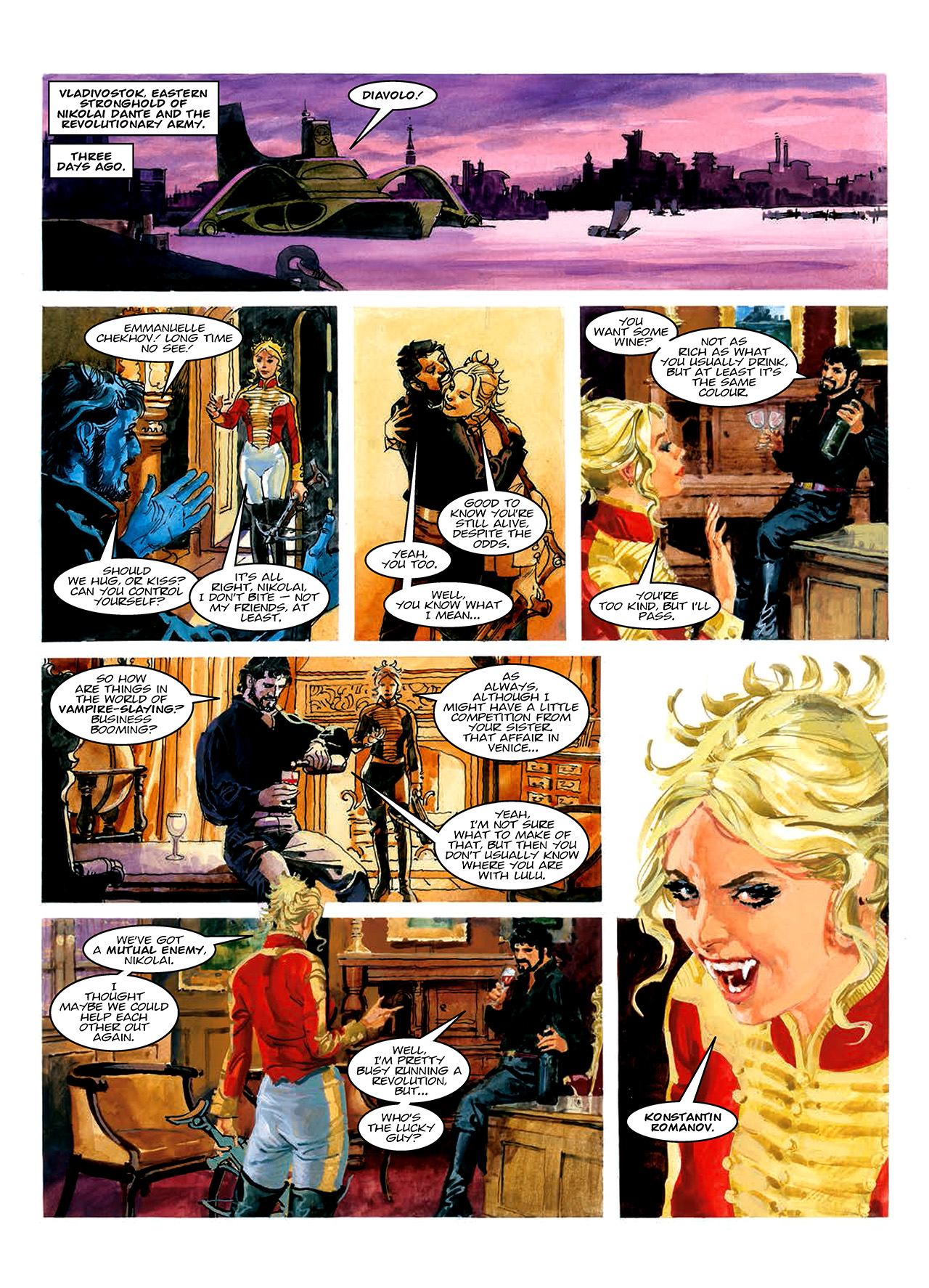 Read online Nikolai Dante comic -  Issue # TPB 10 - 169