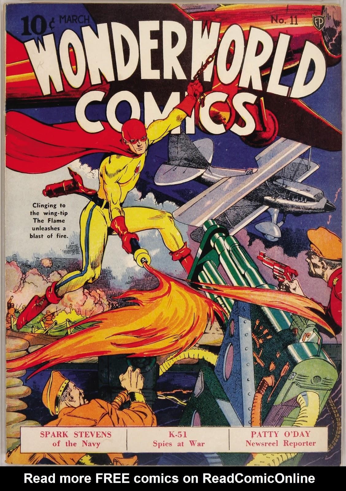 Wonderworld Comics issue 11 - Page 1