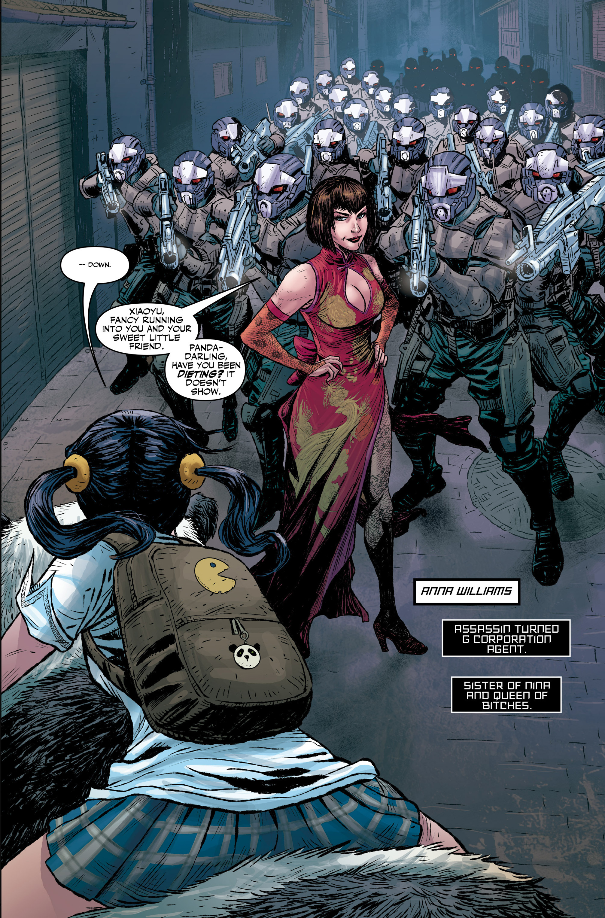 Read online Tekken comic -  Issue #1 - 11