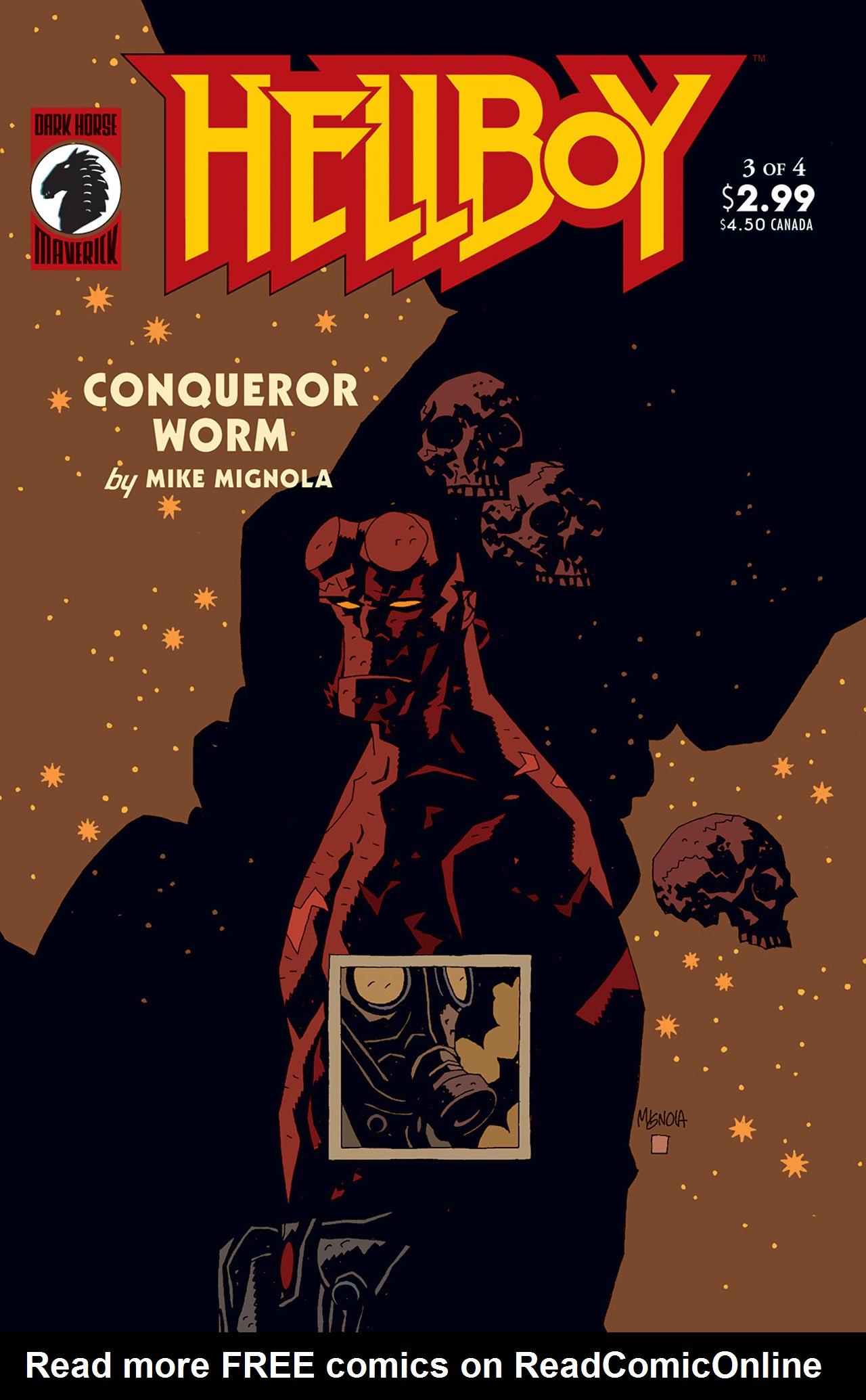 Read online Hellboy: Conqueror Worm comic -  Issue #3 - 1