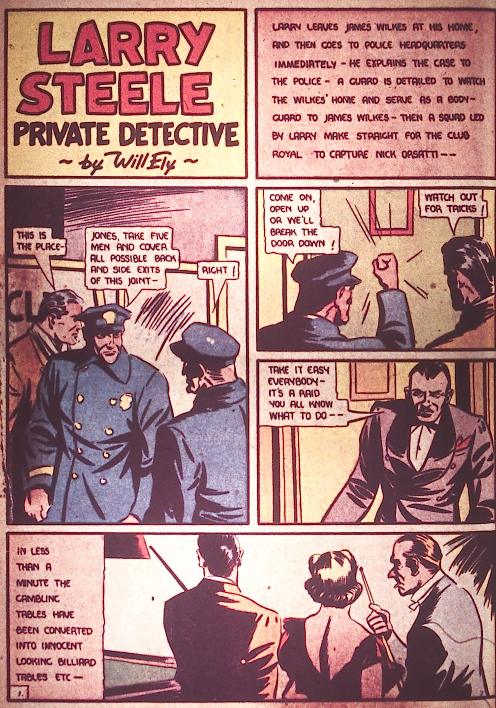 Read online Detective Comics (1937) comic -  Issue #11 - 10