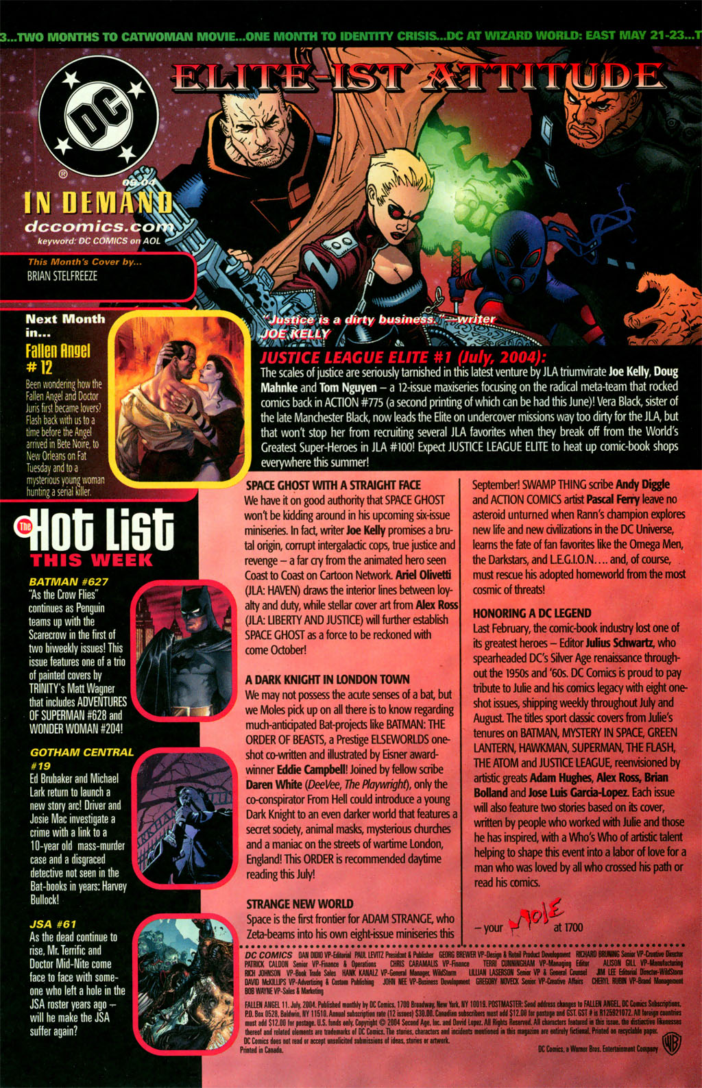 Read online Fallen Angel (2003) comic -  Issue #11 - 24