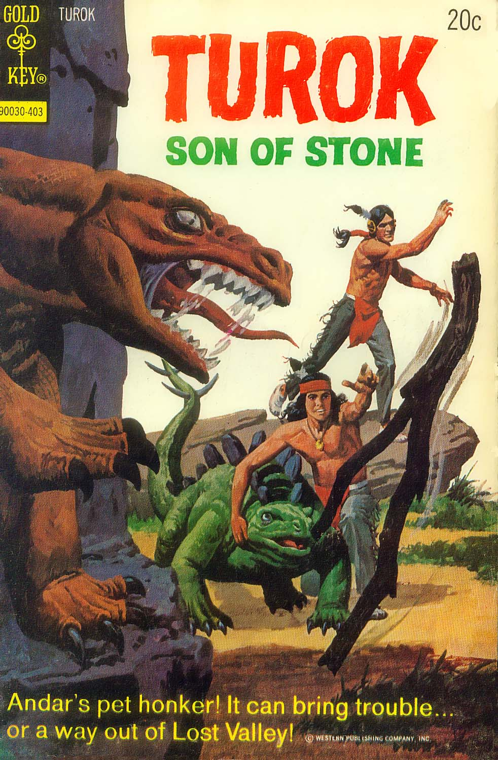 Read online Turok, Son of Stone comic -  Issue #89 - 1
