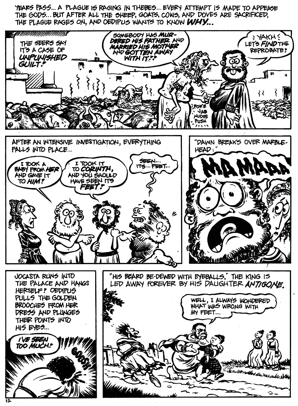 Read online The Cartoon History of the Universe comic -  Issue #5 - 14