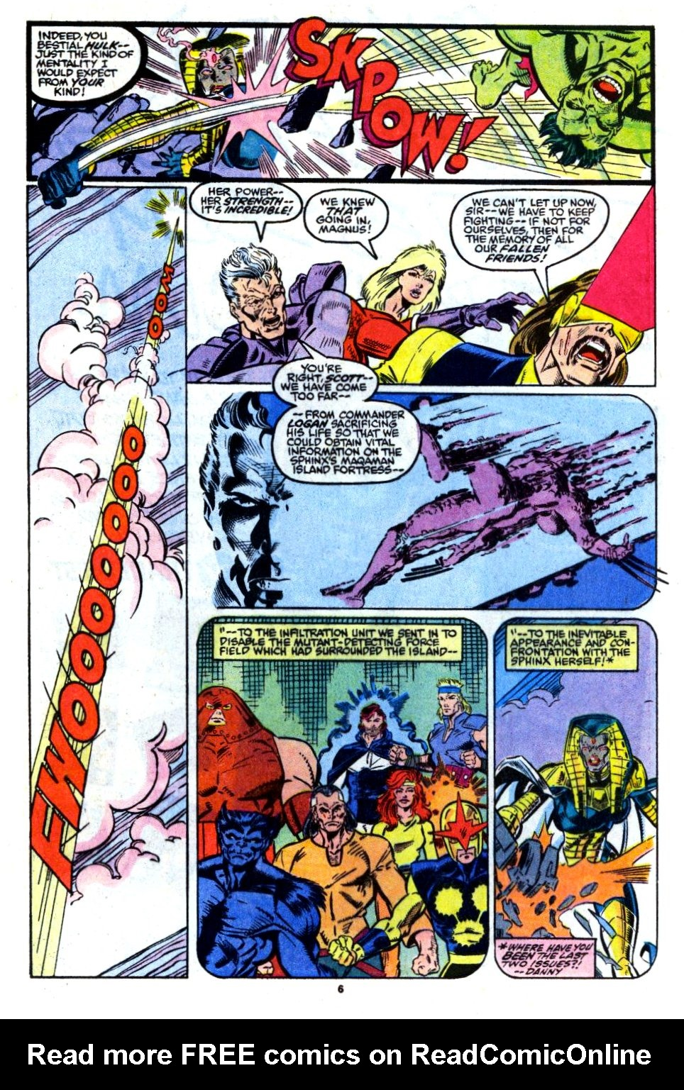 The New Warriors Issue #13 #17 - English 6