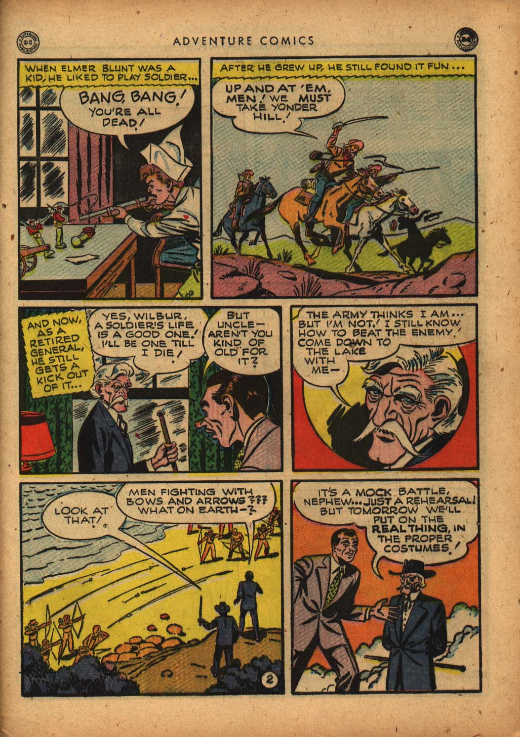 Read online Adventure Comics (1938) comic -  Issue #109 - 43