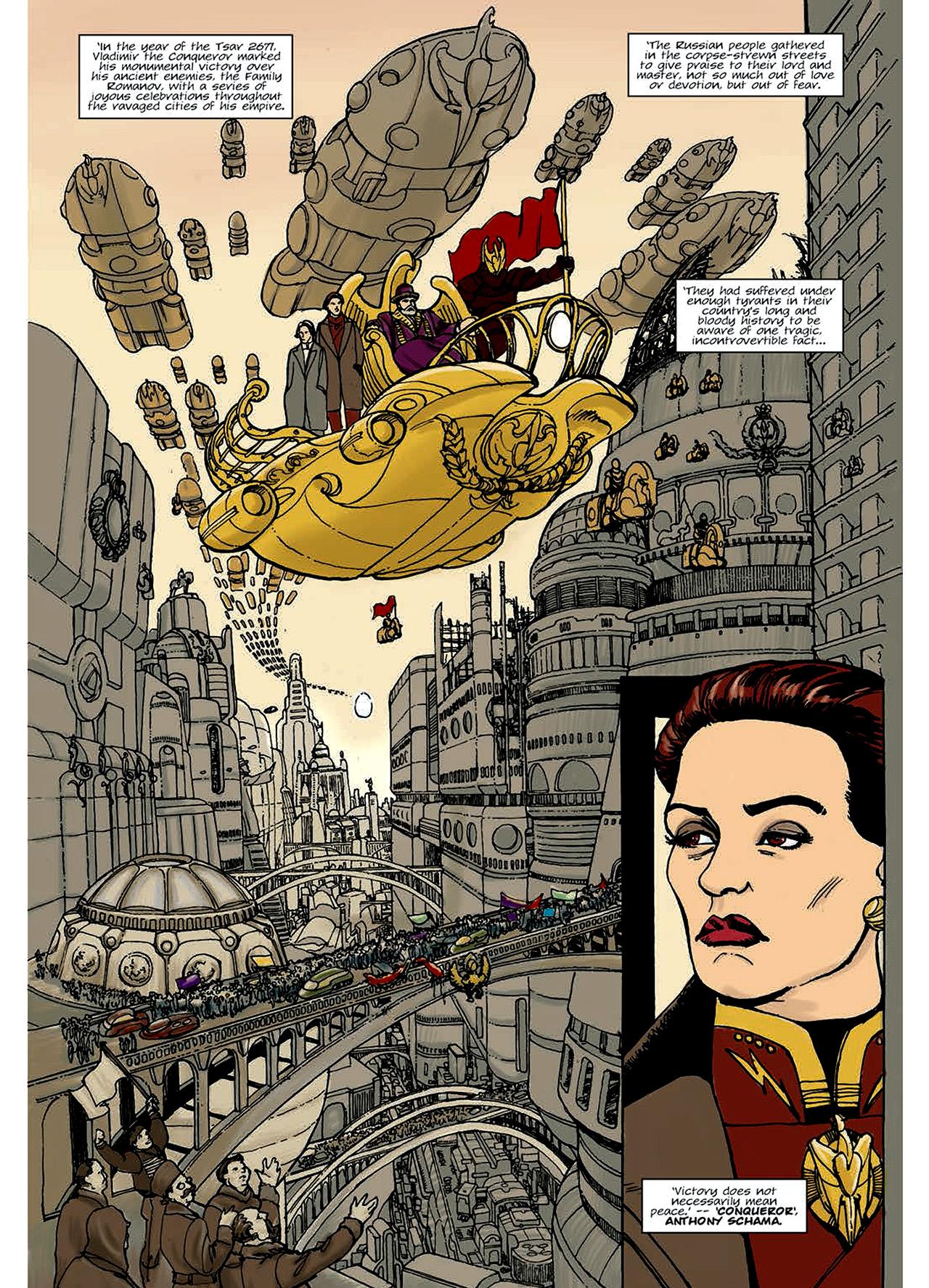 Read online Nikolai Dante comic -  Issue # TPB 6 - 7