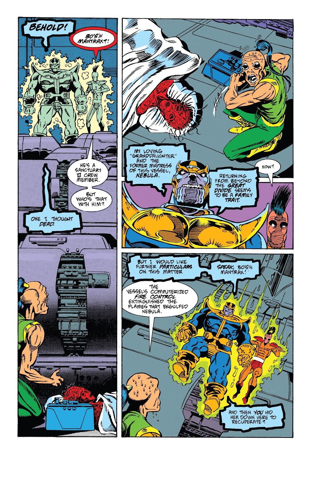 Read online Marvel Tales: Thanos comic -  Issue # Full - 31