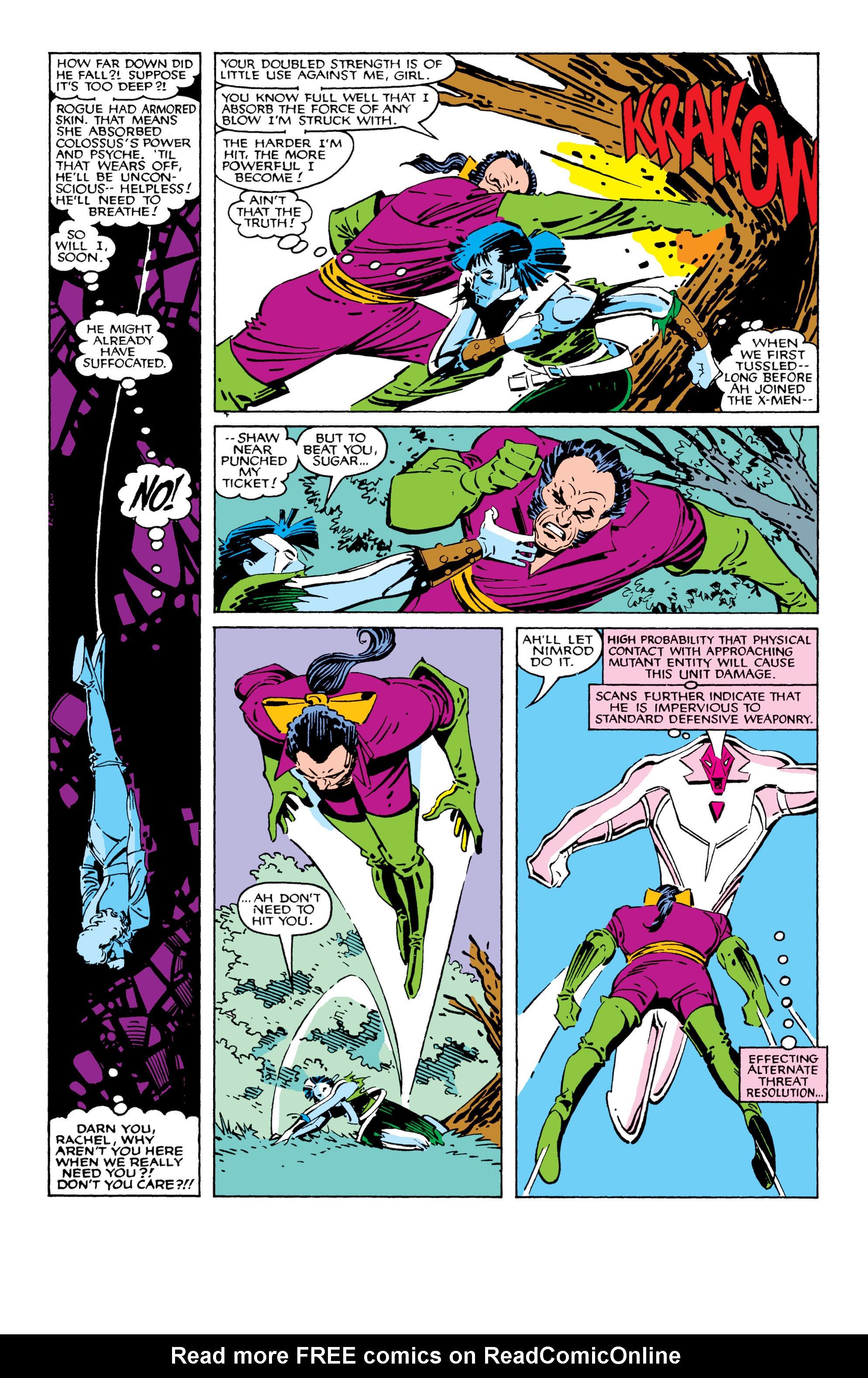 Read online Uncanny X-Men (1963) comic -  Issue #209 - 7