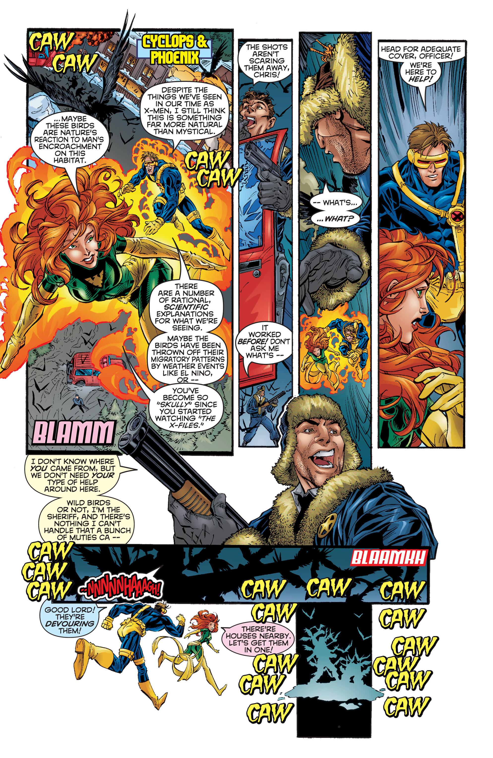 Read online Uncanny X-Men (1963) comic -  Issue #357 - 17