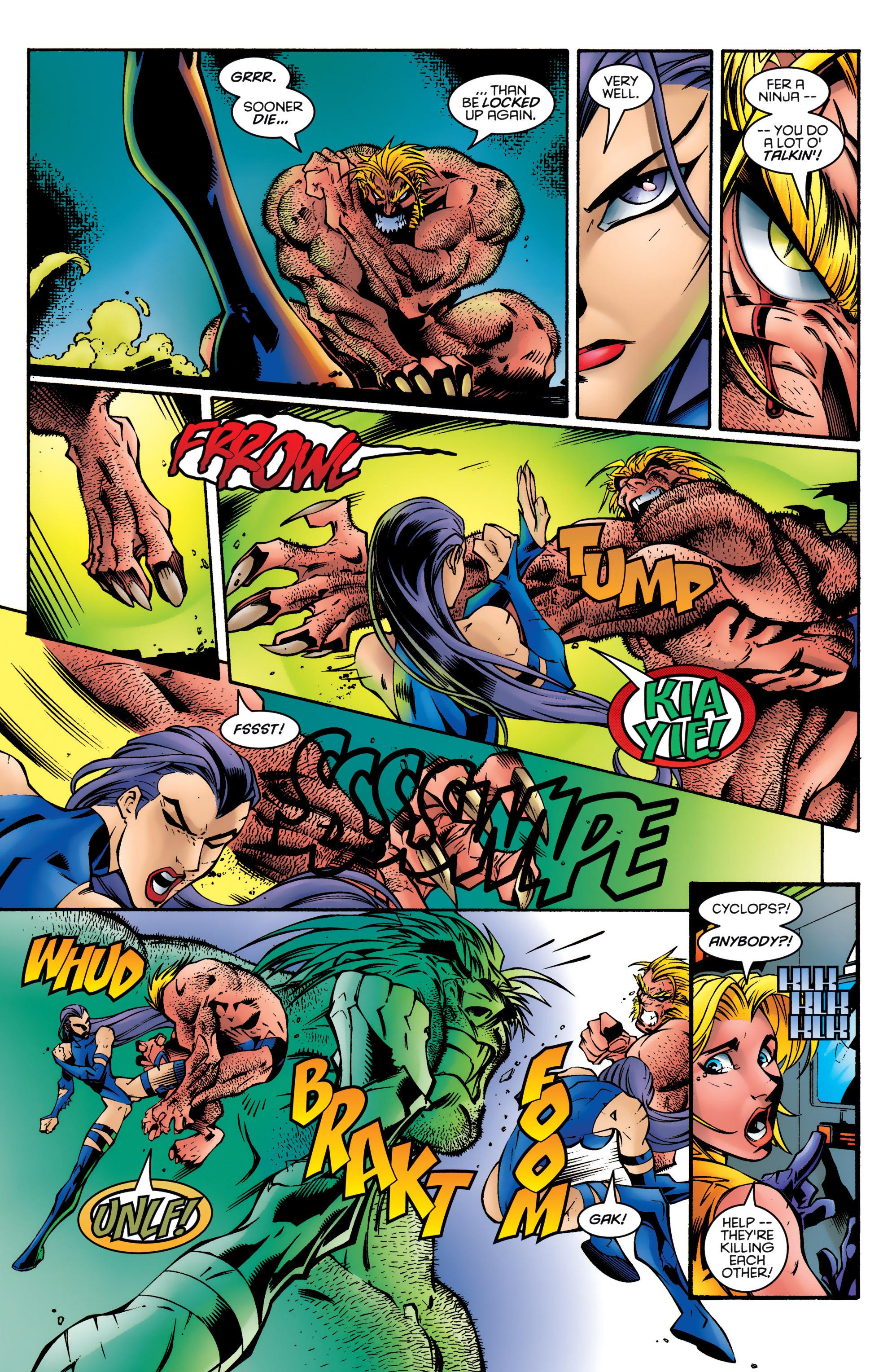 Read online Uncanny X-Men (1963) comic -  Issue #328 - 18