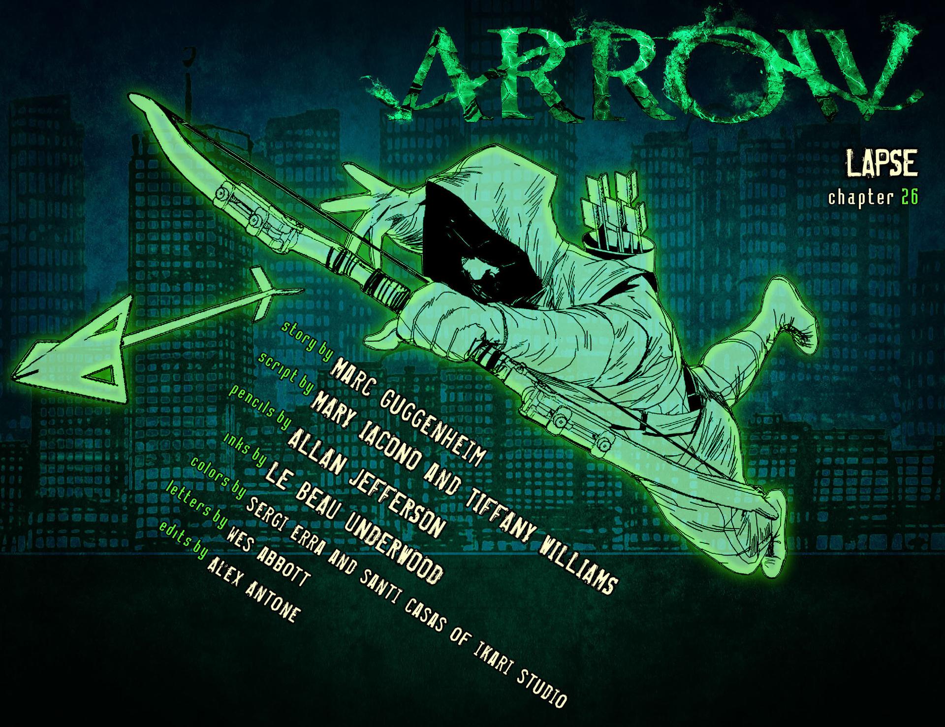 Read online Arrow [II] comic -  Issue #26 - 2