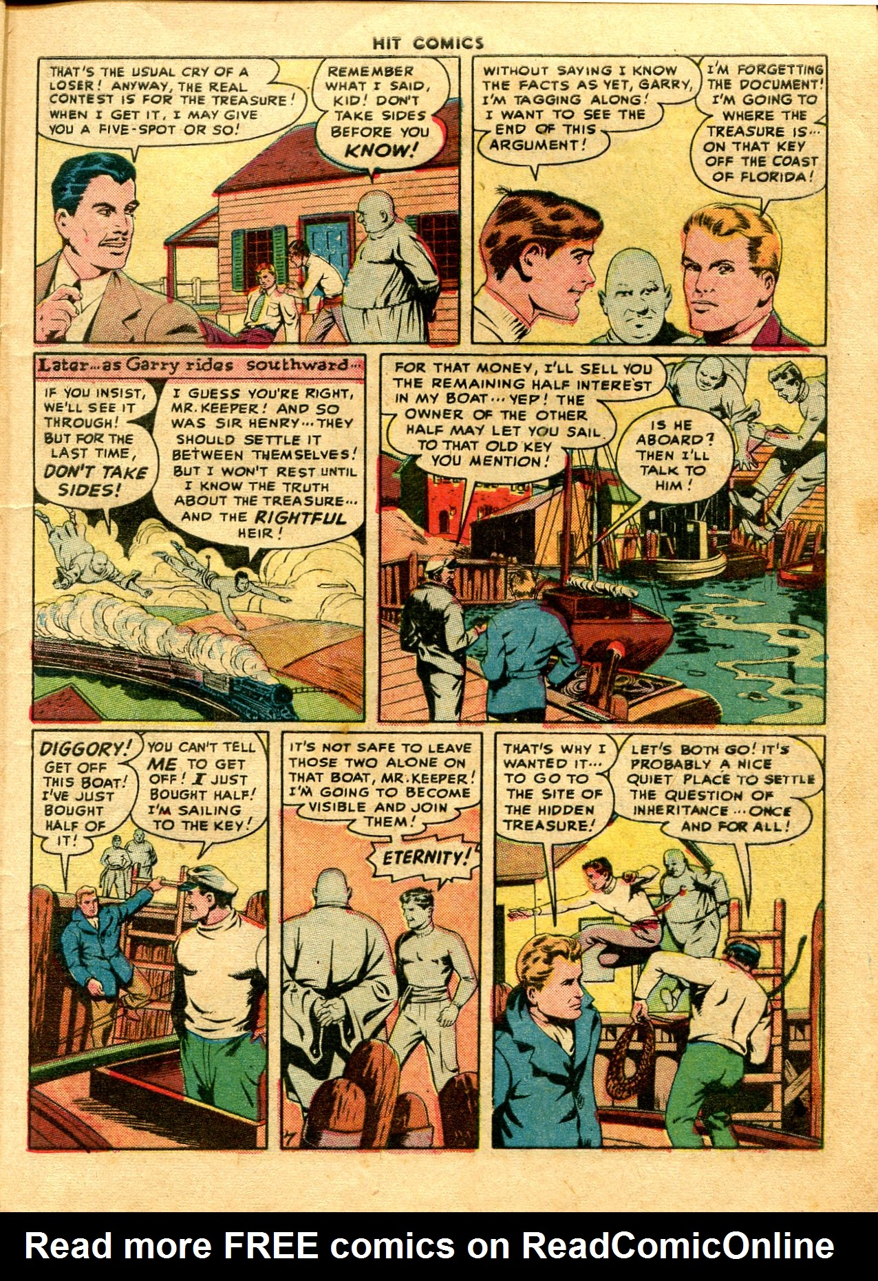 Read online Hit Comics comic -  Issue #48 - 9
