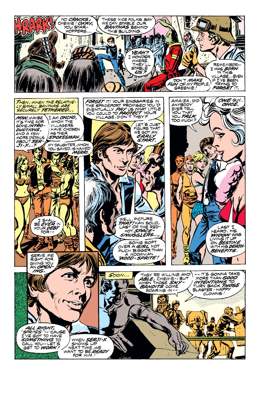 Read online Star Wars Legends: The Original Marvel Years - Epic Collection comic -  Issue # TPB 1 (Part 2) - 60